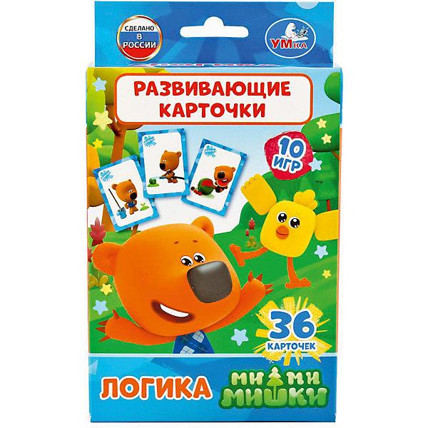 Умка Карточки развивающие Умка «Мимишки. Логика» развивающие карточки умка английский язык