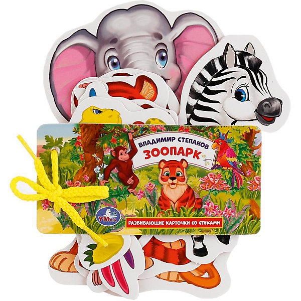 Умка Развивающие карточки Умка «Зоопарк» развивающие карточки умка английский язык