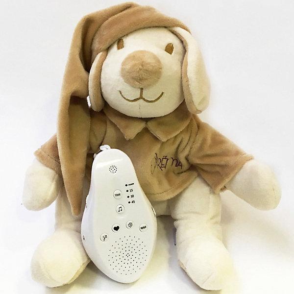 Купить Игрушка для сна Собачка DrЁma BabyDou с белым и розовым шумом, бежевый, Drema BabyDou, Россия, Унисекс