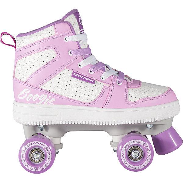 Tech Team Ролики-квады для танцев Tech Team Boogie-Woogie угги boogie woogie обувь на полную ногу