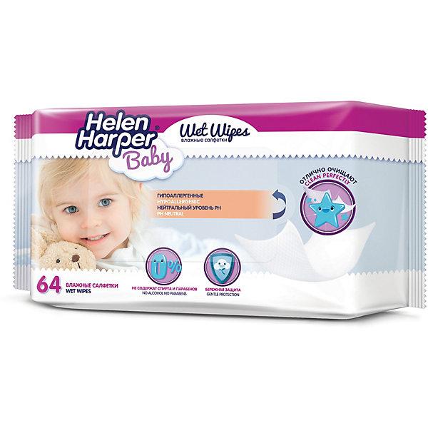 Helen Harper Детские влажные салфетки Baby 64 шт
