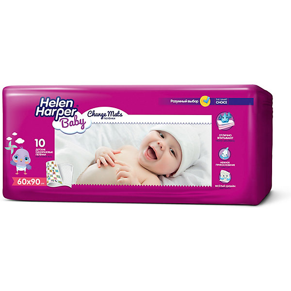 Helen Harper Детские пеленки Baby 60х90 10 шт