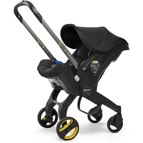 doona Коляска-автокресло Simple Parenting Doona+, 0-13кг, Nitro Black