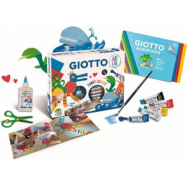Giotto Набор весёлый коллаж Art Lab, 28 предметов