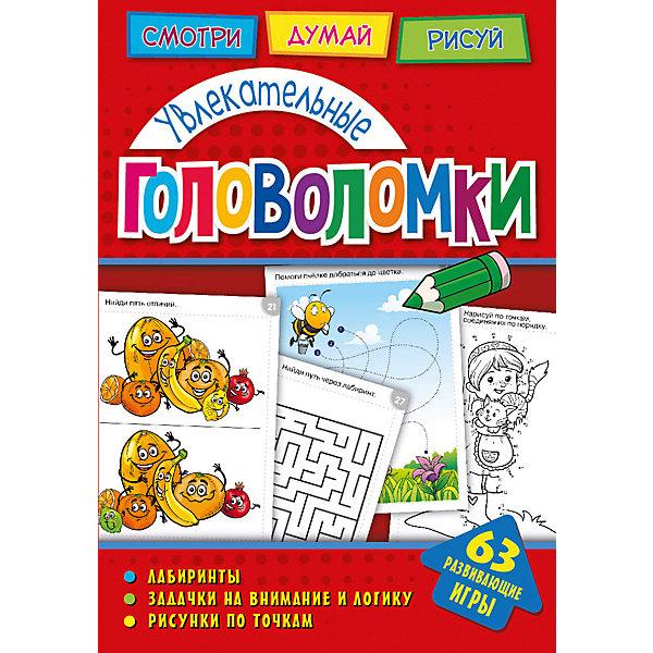 Развивающая книга «Головоломки. Увлекательные головоломки» ND Play