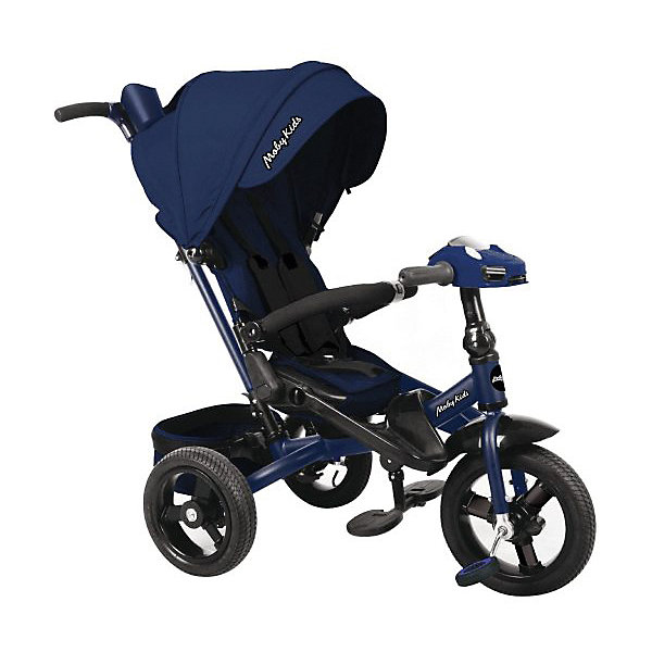 Купить Трехколесный велосипед Moby Kids New Leader 360° 12x10, темно-синий, Китай, atlantikblau, Унисекс