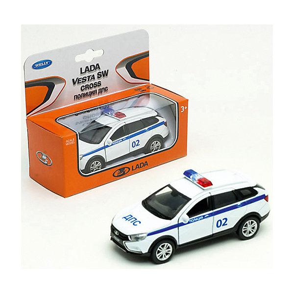 Welly Машина Lada Vesta Sw Cross Полиция ДПС