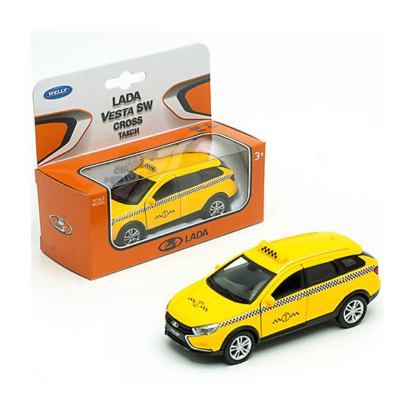 Welly Машина Lada Vesta Sw Cross Такси