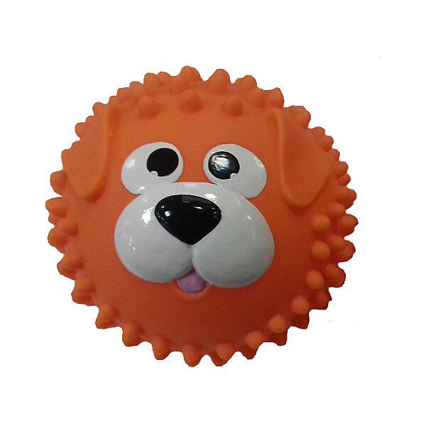 ЯиГрушка Массажный мяч Собачка, оранжевый