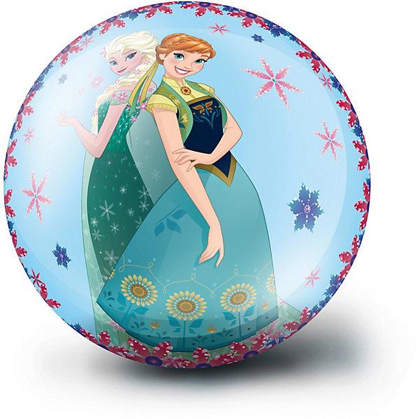 Мяч ЯиГрушка Холодное сердце, голубойИгровые мячи<br>Характеристики:<br><br>? диаметр: 23 см<br><br>На поверхность нанесен рисунок с героями популярного мультфильма. Мяч используется во множестве разнообразных детских игр и помогает в развитии координации, ловкости, внимания и зрения.