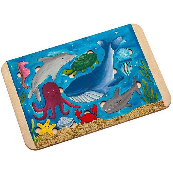 Картинка для Bradex Пазл-раскраска Bradex «Морские жители»