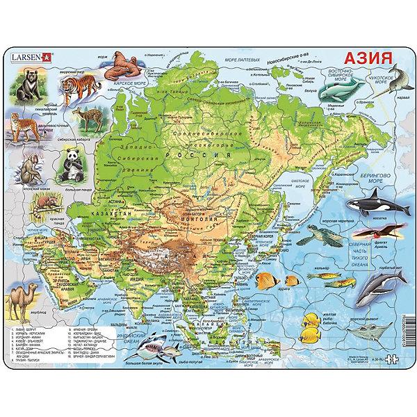 Larsen Пазл Животные Азии, на русском языке