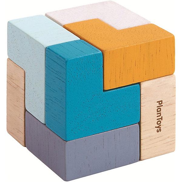 Plan Toys Головоломка Plan Toys 3D пазл – Куб головоломка mefferts m6620 куб призрак