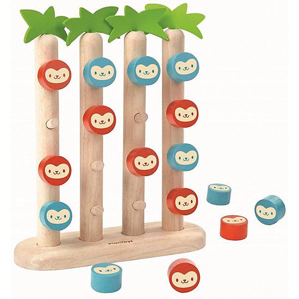 Купить Настольная игра Plan Toys Четыре обезьянки в ряд , Таиланд, Унисекс