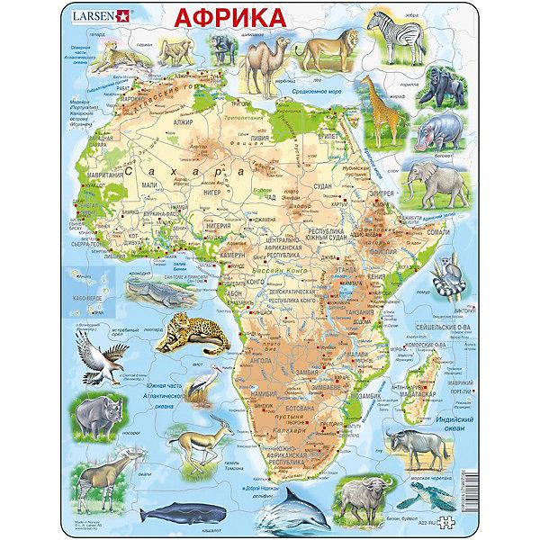 Larsen Пазл Животные Африки, на русском языке