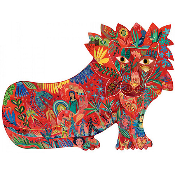 Купить Пазл DJECO Тигр , 150 деталей, Китай, Унисекс