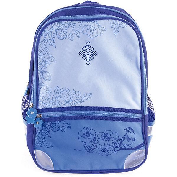 Рюкзак Gulliver СакураРюкзаки<br>Характеристики:<br><br>• материал: полиуретан 600 D<br>• размер рюкзака: 30х15х43 см<br>• вес рюкзака: 435 г<br>• тип рюкзака: школьный, подростковый<br>• анатомическая спинка<br>• тип застёжки: молния<br>• 2 основных отделения<br>• 2 боковых кармана<br>• широкий карман спереди<br>• регулируемые лямки<br>• светоотражающие элементы<br>• страна бренда: Россия<br><br>Рюкзак со стильным дизайном обладает хорошей вместительностью для школьных принадлежностей и эргономичной конструкцией, представленной в виде анатомической спинки, которая обеспечит сохранность формы позвоночника, и регулируемых лямок, повторяющих контуры плеч. Благодаря прочной ткани с водоотталкивающей пропиткой, ранец легко отчистить от загрязнений, а с помощью светоотражающих элементов, расположенных со всех сторон изделия, обладателя данного аксессуара будет видно в вечернее время суток.