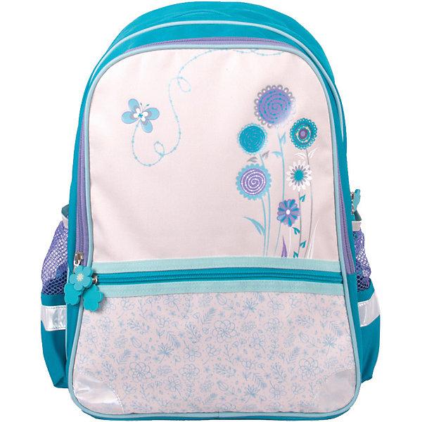 Рюкзак Gulliver ЛетоРюкзаки<br>Характеристики:<br><br>• материал: полиуретан 600 D<br>• размер рюкзака: 30х15х43 см<br>• вес рюкзака: 435 г<br>• тип рюкзака: школьный, подростковый<br>• анатомическая спинка<br>• тип застёжки: молния<br>• 2 основных отделения<br>• 2 боковых кармана<br>• широкий карман спереди<br>• регулируемые лямки<br>• светоотражающие элементы<br>• страна бренда: Россия<br><br>Рюкзак со стильным дизайном обладает хорошей вместительностью для школьных принадлежностей и эргономичной конструкцией, представленной в виде анатомической спинки, которая обеспечит сохранность формы позвоночника, и регулируемых лямок, повторяющих контуры плеч. Благодаря прочной ткани с водоотталкивающей пропиткой, ранец легко отчистить от загрязнений, а с помощью светоотражающих элементов, расположенных со всех сторон изделия, обладателя данного аксессуара будет видно в вечернее время суток.