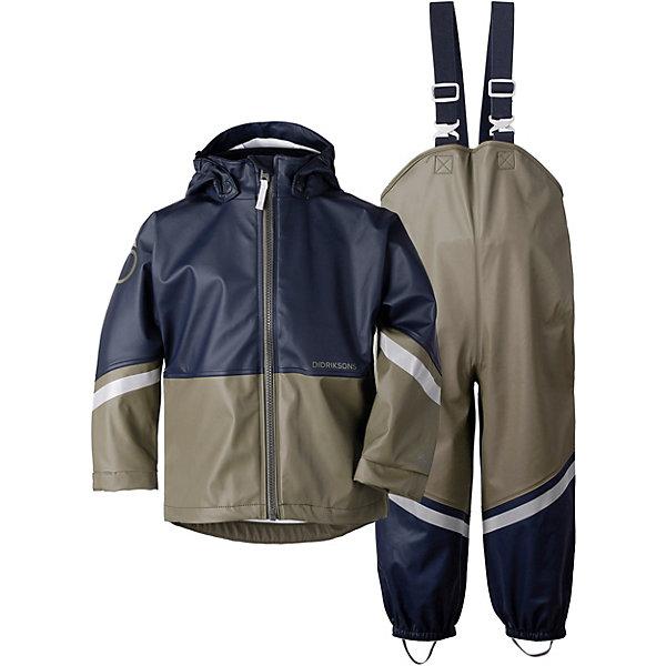 Купить Комплект Didriksons Waterman: куртка и полукомбинезон, DIDRIKSONS1913, Китай, оливковый, 90, 100, 70, 110, 80, 130, 120, 140, Унисекс