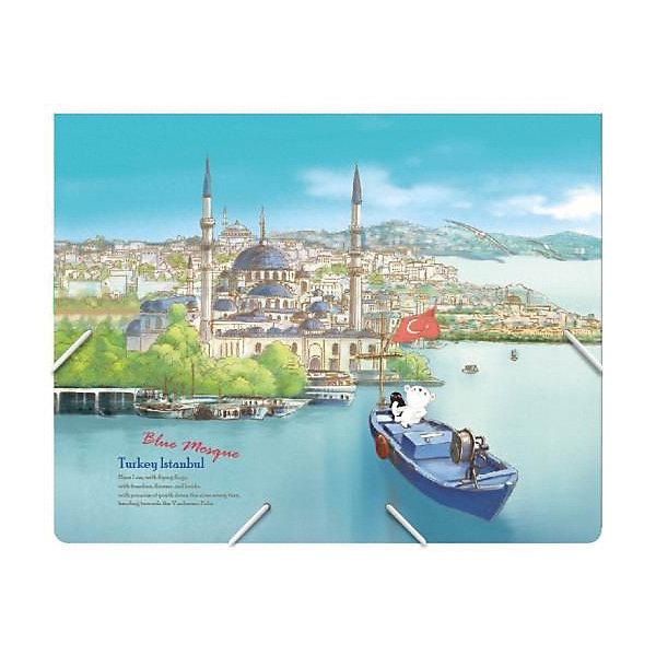 Comix Папка на резинках Traveling Турция