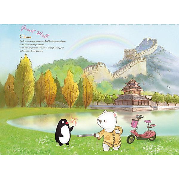 Comix Папка на резинках Traveling Китай