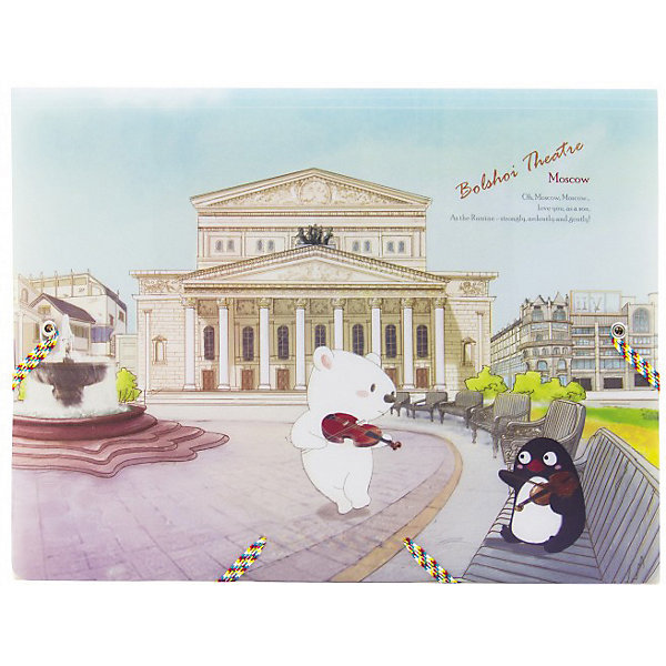 Comix Папка на резинках Traveling Москва Большой театр