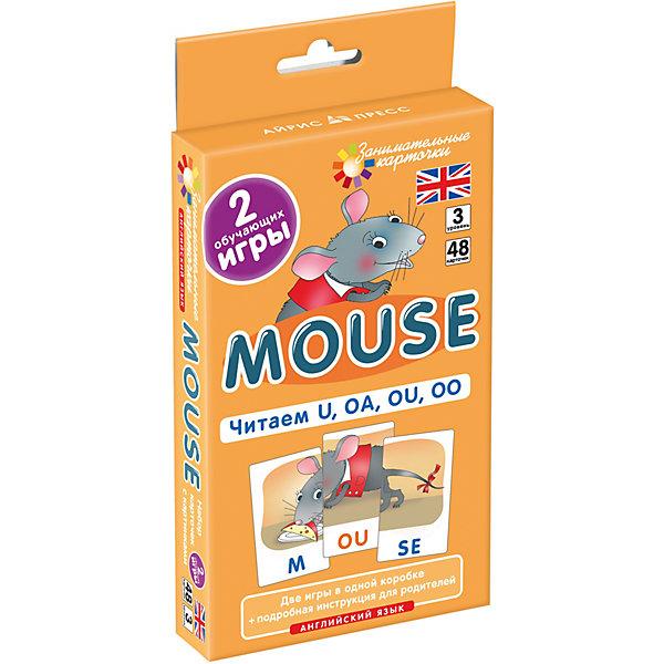 АЙРИС-пресс Занимательные карточки Английский язык: Мышонок (Mouse) Level 3, Клементьева Т.