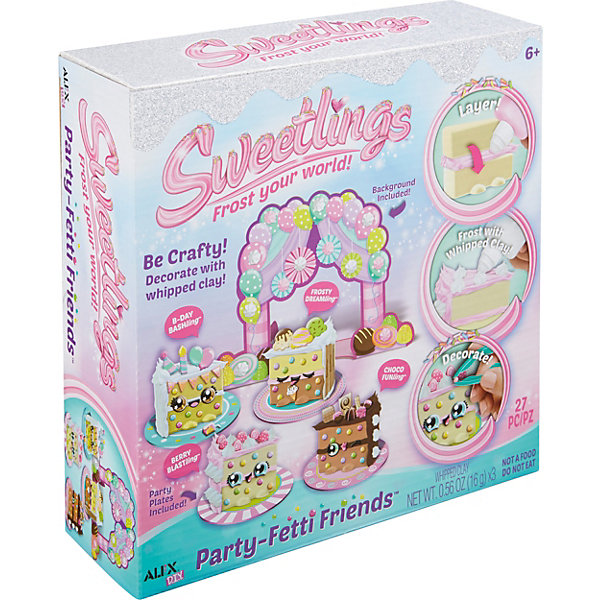 Купить 591001 Набор Укрась торт от 6 лет, ALEX, США, Унисекс