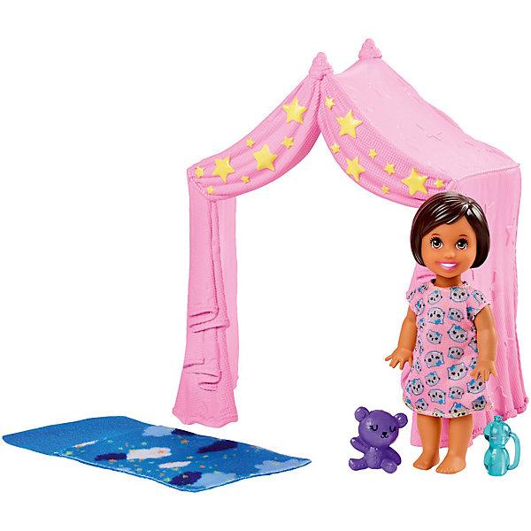 Mattel Игровой набор с мини-куклой Barbie Скиппер няня Игра малышом