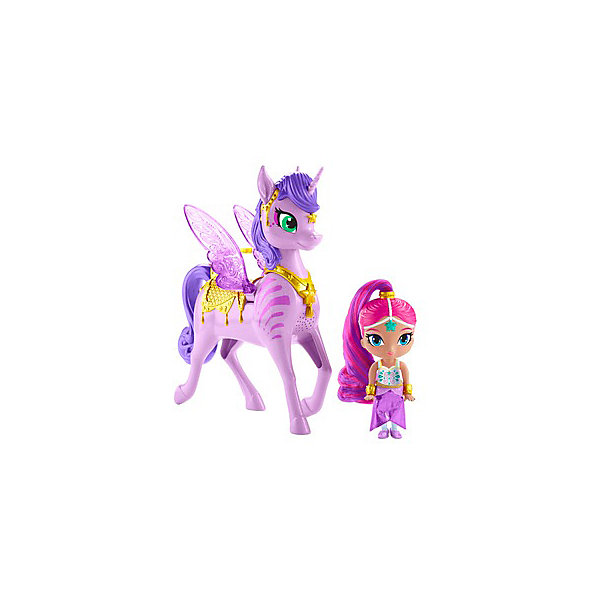 Mattel Игровой набор Shimmer&Shine Кукла и Заракорн,