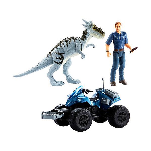 Купить Игровой набор Jurassic World Story Pack Внедорожный трекер ATV, Mattel, Китай, Мужской