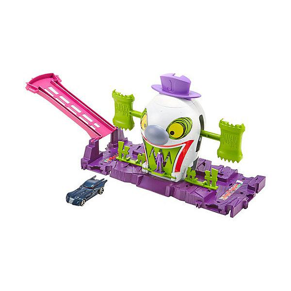 Купить Автотрек Hot Wheels Gotham City Весёлый дом Джокера, Mattel, Китай, Мужской