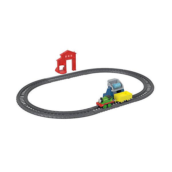 Mattel Железная дорога Fisher-Price Thomas and Friends Track Master Перси доставляет груз
