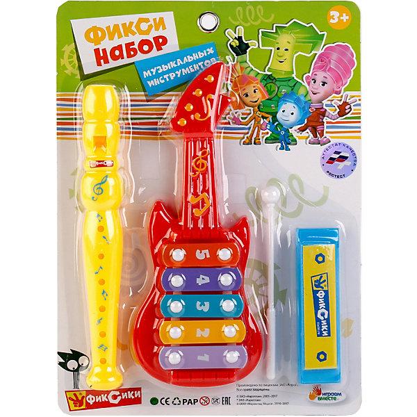 Играем вместе Набор музыкальных инструментов Вместе «Фиксики»