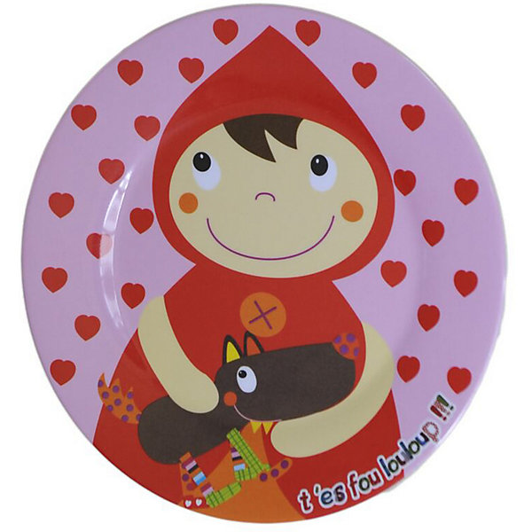 Ebulobo Тарелка Красная Шапочка