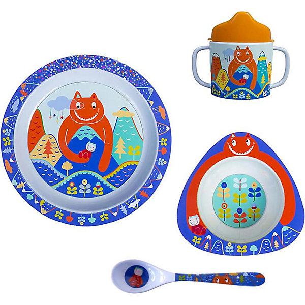 Ebulobo Набор посуды Гигант, 4 предмета
