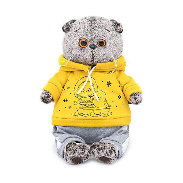 Budi Basa Мягкая игрушка Кот Басик в спортивном костюме, 25 см