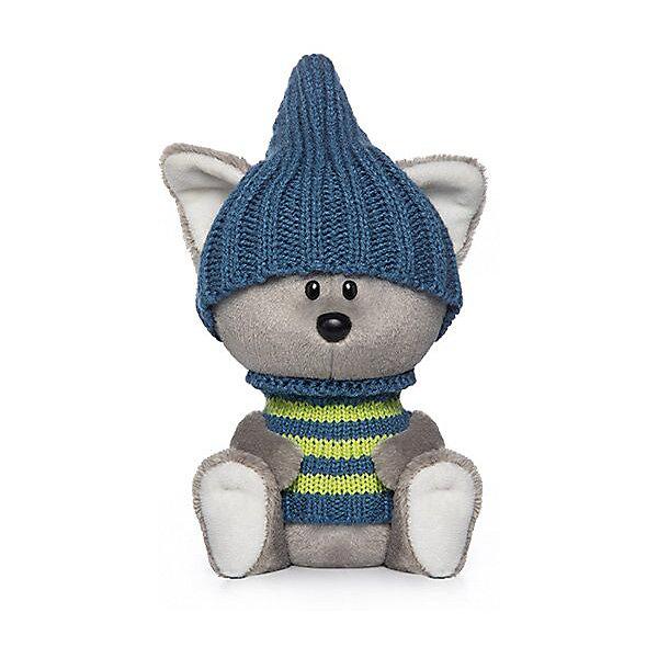 Мягкая игрушка Budi Basa лЕсята Волчонок Вока в шапочке и свитере, 15 смМягкие игрушки животные<br>Характеристики:<br><br>• тип товара: мягкая игрушка<br>• материал: искусственный мех, пластик, текстиль<br>• высота игрушки: 15 см<br>• страна бренда: Россия<br> <br>Мягкая игрушка напоминает настоящего волчонка. У него большие ушки, аккуратные глаза и носик. Красивый наряд дополняет образ и полностью снимается. Игрушка сертифицирована и сделана из нетоксичных материалов.