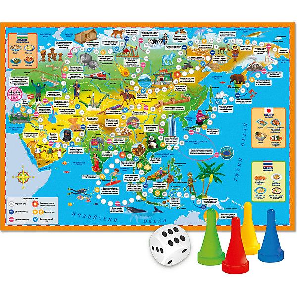 ГеоДом Настольная игра Геодом Вокруг света Азия