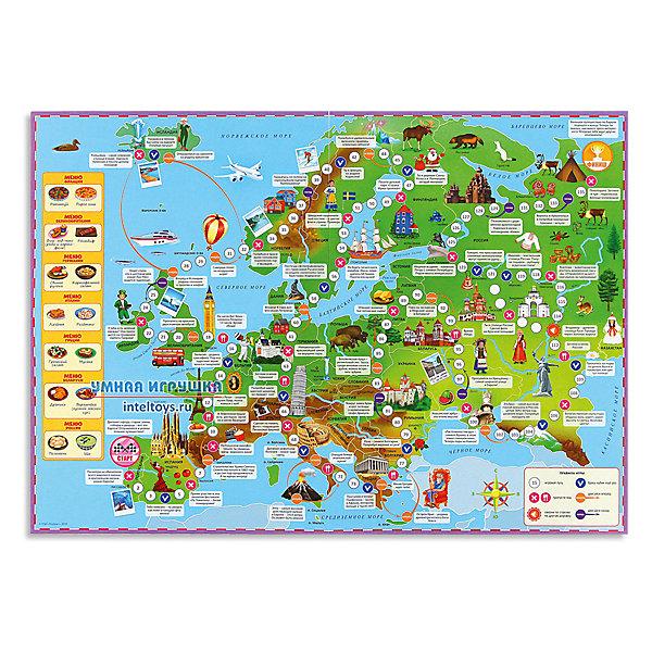 цена на ГеоДом Настольная игра Геодом Вокруг света Европа