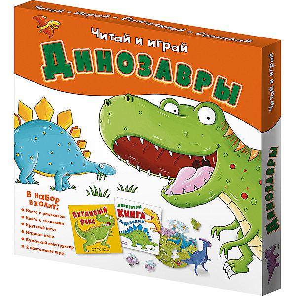 цена на ГеоДом Набор игровой 6в1 Геодом Читай и играй Динозавры