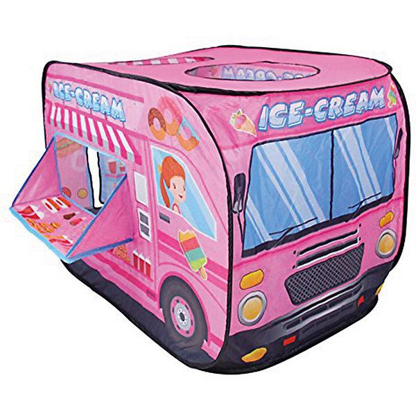 Палатка Наша Игрушка Машина мороженого, 70*70*110см 11095963