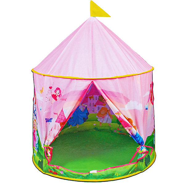 Купить Палатка Наша Игрушка Волшебный замок , 100х100х115 см, Китай, розовый, Женский