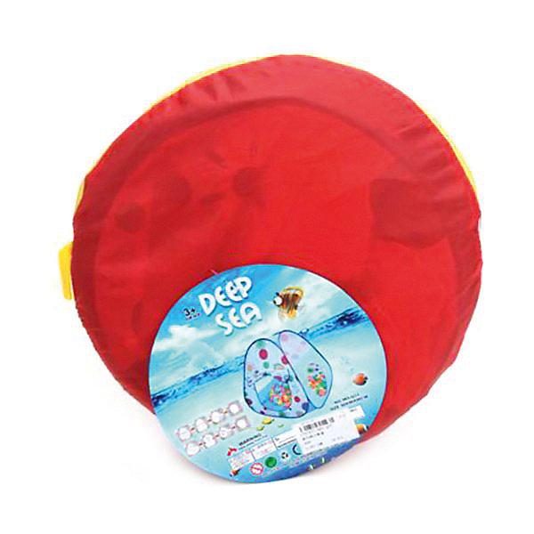 Купить Палатка Наша Игрушка Полевые цветы , 90*90*90 см, Китай, синий, Унисекс