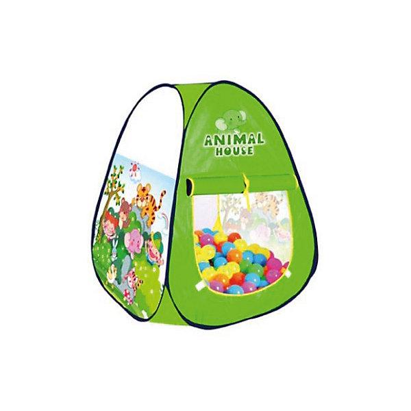 Купить Палатка Наша Игрушка Волшебный сад , 106х106х103 см, Китай, зеленый, Унисекс