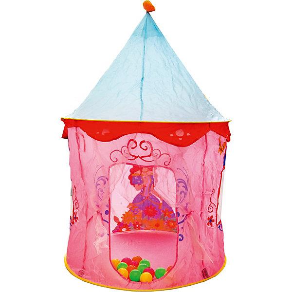 Палатка Наша Игрушка Шатер Принцессы, 90х90х135 см 11096033