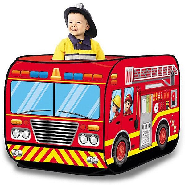 Палатка Наша Игрушка Пожарная машина, 72*72*112 см 11096041
