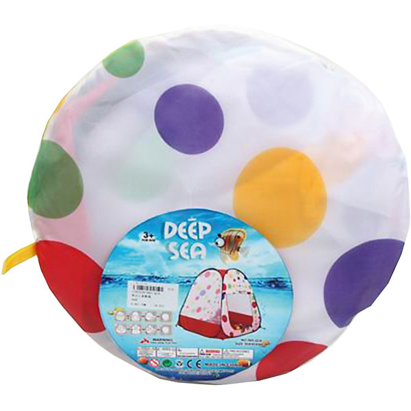 Наша Игрушка Палатка Цветной горох, 95*95*98см