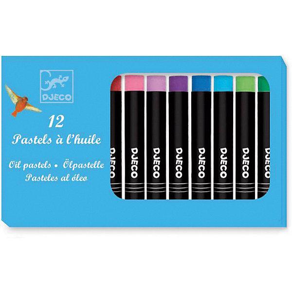 DJECO Набор пастельных карандашей DJECO, 12 цветов