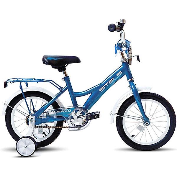 Stels Двухколесный велосипед Talisman 16 дюймов, cиний